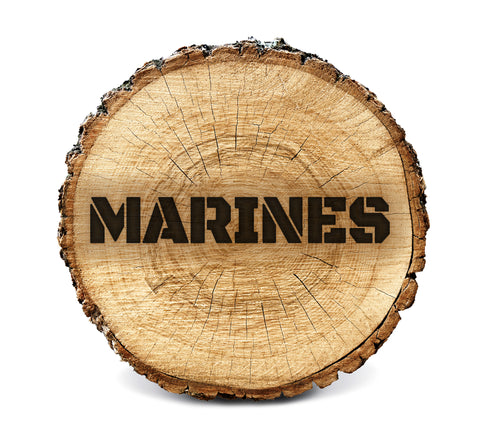 Wood BurnStencil™ - Marines