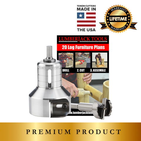 Pro Series Beginner's Kit - USA made premium tenon cutters