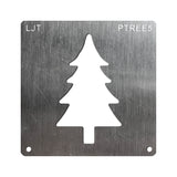 Wood Burning Stencil - Pine Tree