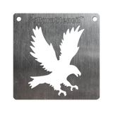 BurnStencil™ - Eagle (Preying)
