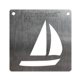 BurnStencil™ - Sailboat