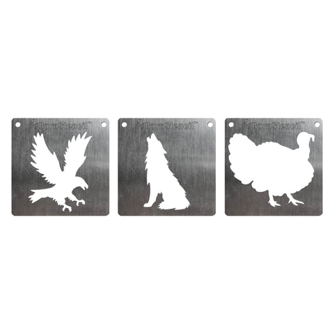 BurnStencil™ - Wildlife 3 Pack
