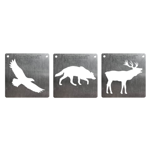 Wood BurnStencil™ - Wilderness 3 Pack