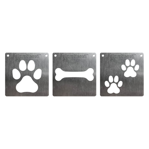 BurnStencil™ - Paws & Claws 3 Pack