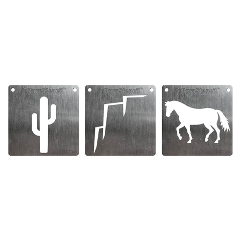 BurnStencil™ - Way Out West 3 Pack