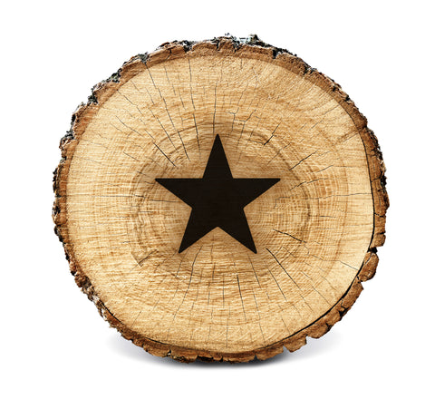 Wood BurnStencil™ - Star