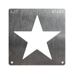 Wood Burning Stencil - Star