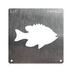 Wood Burning Stencil - Fish