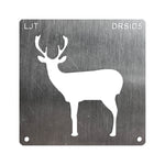 BurnStencil™ - Deer (Side Profile)