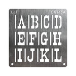 Wood BurnStencil™ Kit - Large Text