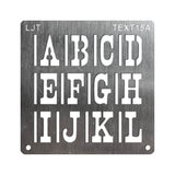 Wood Burning Stencil Kit - Large Text