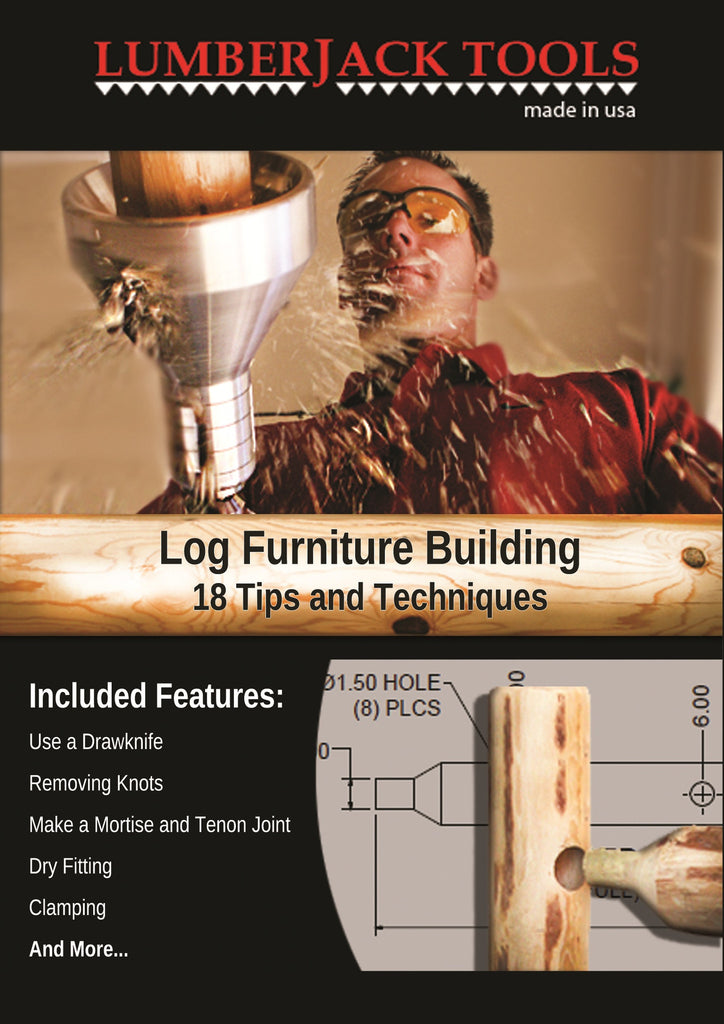 Log Furniture Building Tips and Techniques DVD