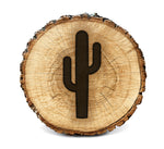 Wood Burning Stencil - Cactus