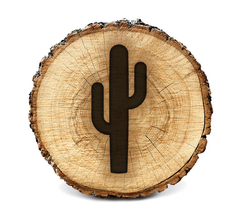 Wood BurnStencil™ - Cactus