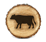 Wood BurnStencil™ - Cow