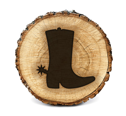 Wood BurnStencil™ - Cowboy Boot