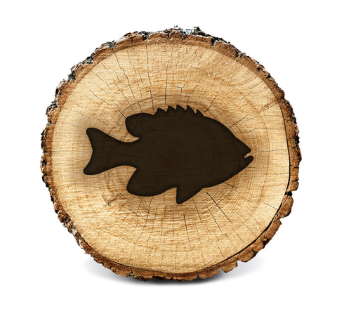 BurnStencil™ - Fish (Bluegill)