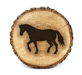 Wood Burning Stencil - Horse Side Profile