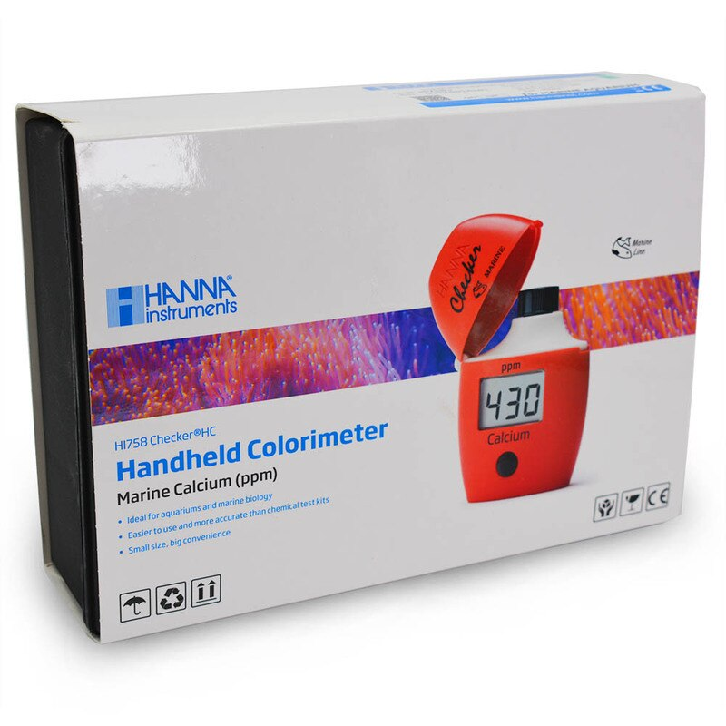 Hanna HI758U Saltwater Aquarium Calcium Colorimeter - Checker® HC