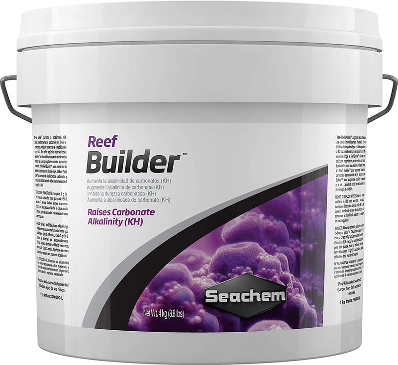 SEACHEM REEF BUILDER RAISE CARBONATE ALKALINITY KH WIT OUT RAISING pH