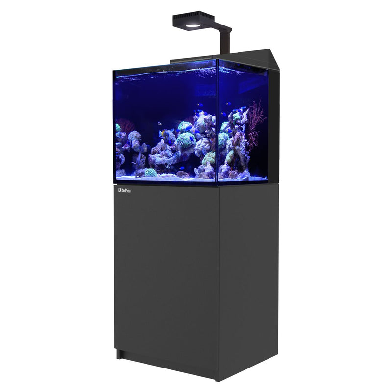 RED SEA MAX E-SERIES E-170 45 GALLON TANK & STAND WITH ReefLED 90 (BLACK & WHITE)