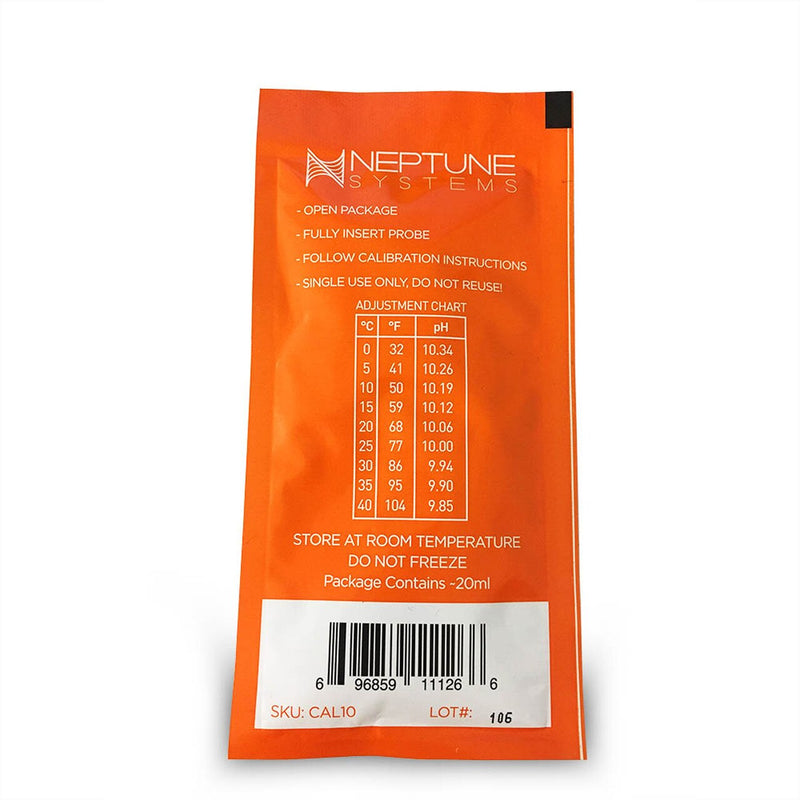 NEPTUNE SYSTEMS APEX PROBE 10.00 pH CALIBRATION FLUID (SINGLE PACK)