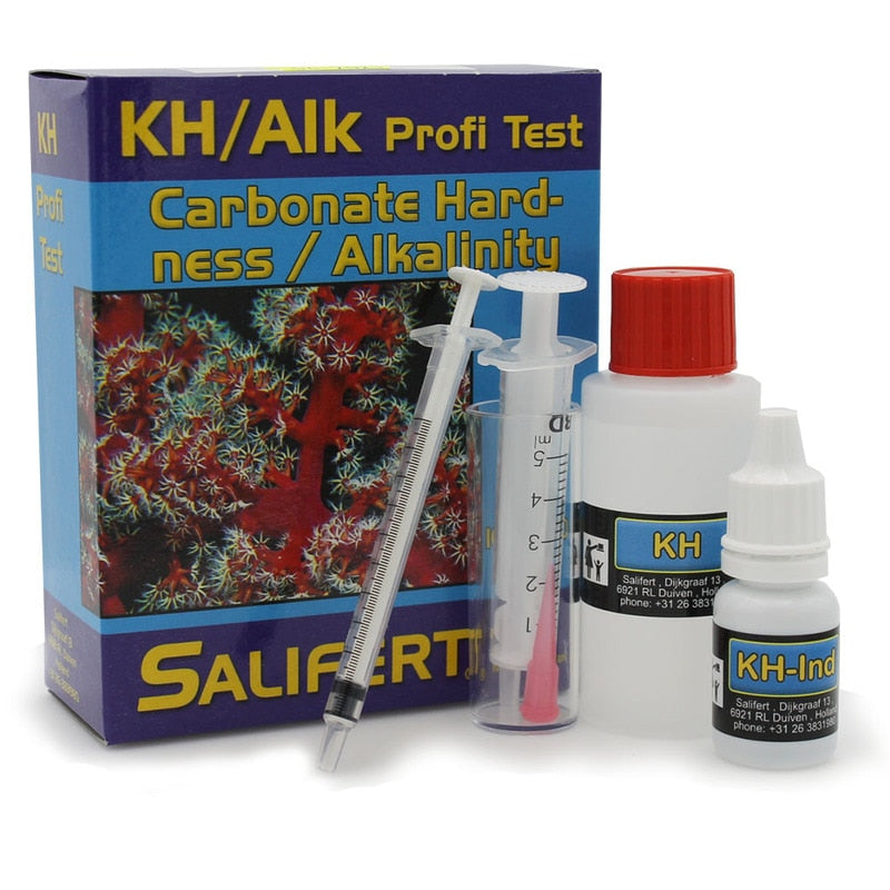 Salifert Carbonate Hardness & Alkalinity (KH/ ALK) Test Kit