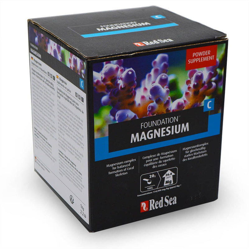 RED SEA MAGNESIUM SUPPLEMENT REEF FOUNDATION C Mg