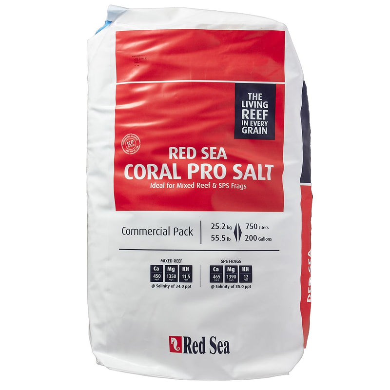 RED SEA AQUARIUM CORAL PRO SALT MIX