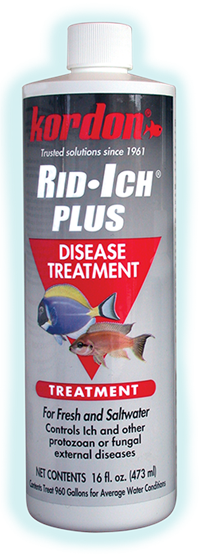 KORDON RID ICH PLUS DISEASE TREATMENT FOR MARINE AND FRESHWATER