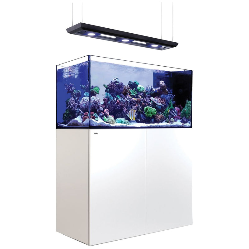 RED SEA REEFER PENINSULA P500 DELUXE 132 GALLON TANK & STAND WITH ReefLED 160S (BLACK & WHITE)