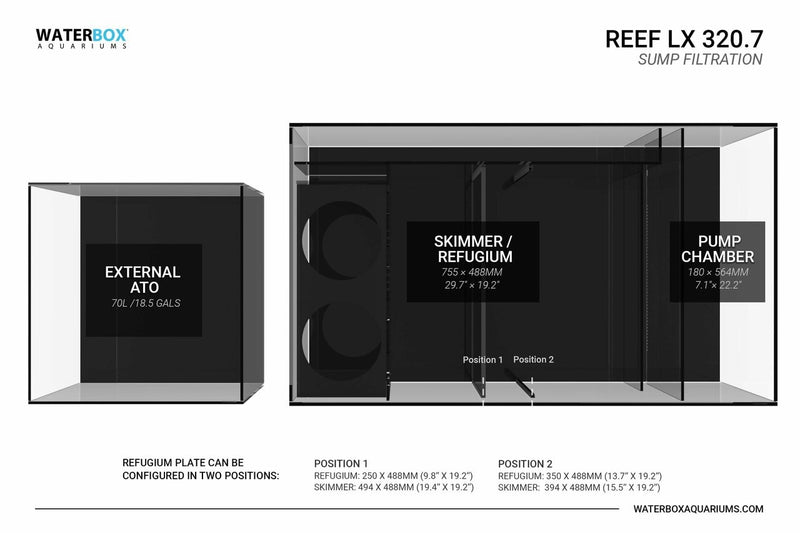 WATERBOX AQUARIUM REEF LX 320.7