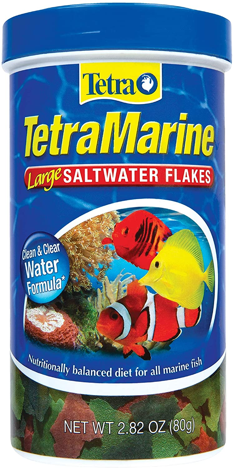 TETRA TETRAMARINE LARGE SALTWATER FLAKES FOR ALL MARINE FISH