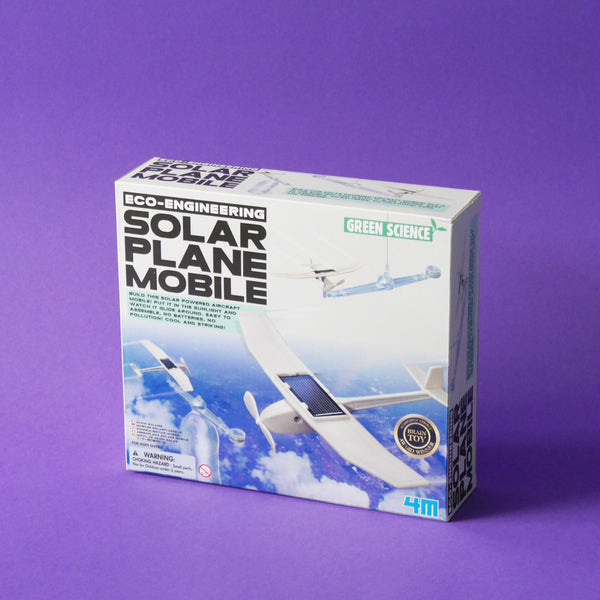 Eco Engineering Solar Plane Mobile