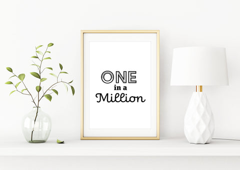 Poster - One in a Million