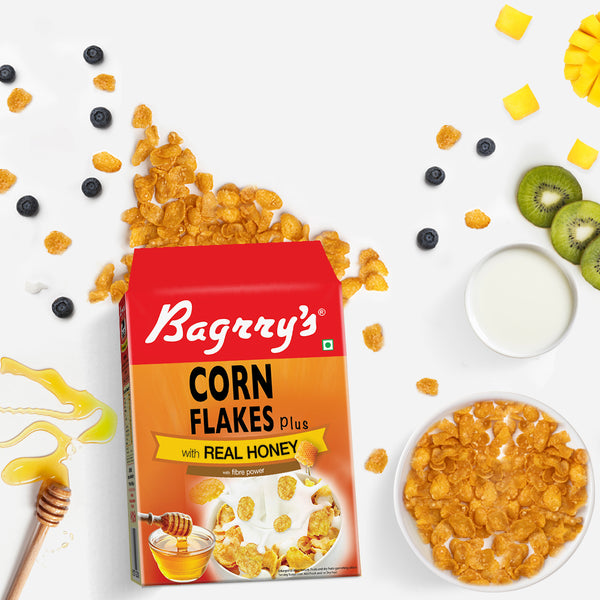 Corn Flakes Plus - Real Honey