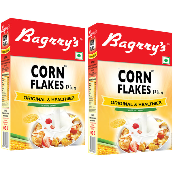 Corn Flakes Plus - Original and Healthier