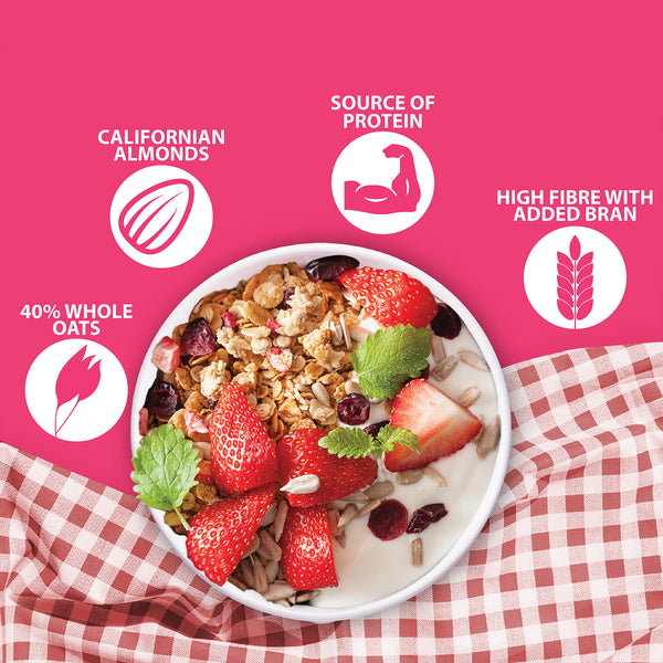 Fruit 'n Fibre Muesli with Strawberry