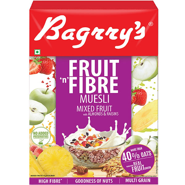 Fruit 'n Fibre Muesli with Mixed Fruit
