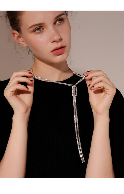 Crystal Sparkle Necklace - Prime Adore