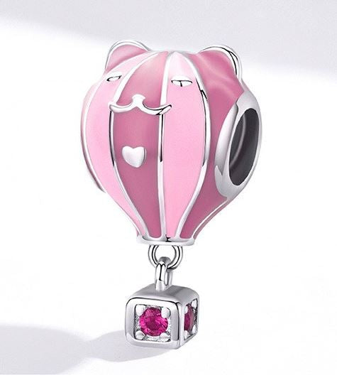 Sterling Silver Charms Collection - Pink Series - Prime Adore