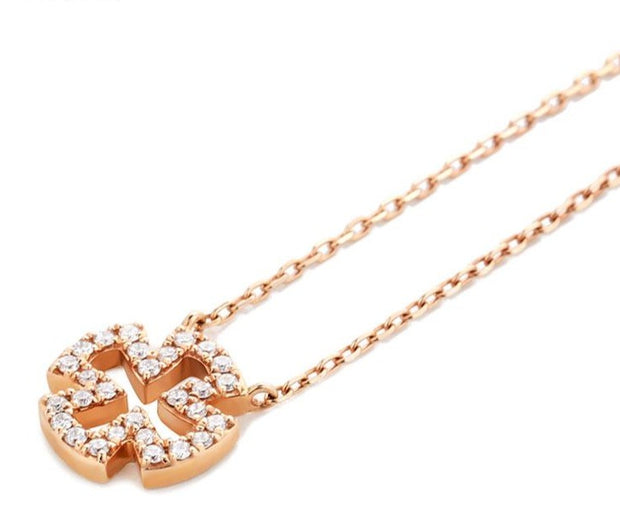 Diamond Cross Pendant Necklace - Prime Adore