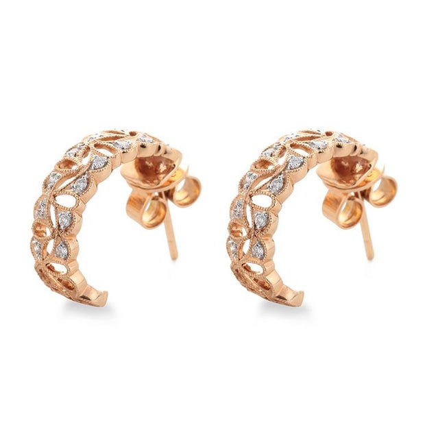 Prime Adore Gold Cuff Earrings - Prime Adore