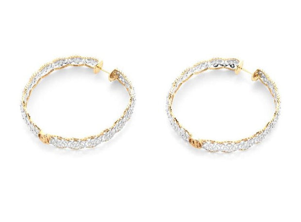 Diamond Lace Earrings - Prime Adore