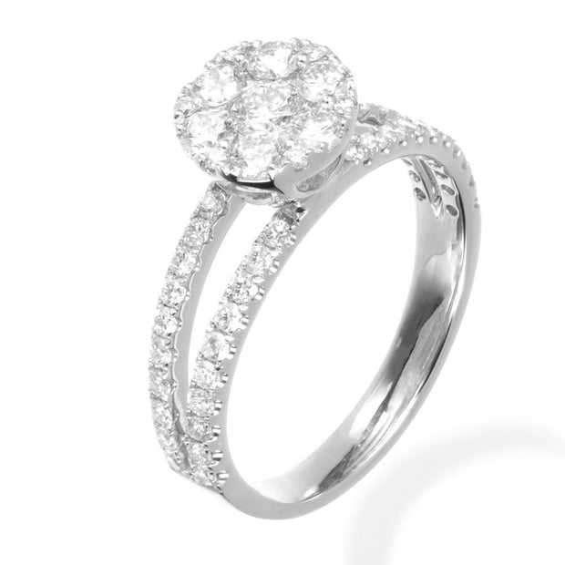 Milky Way Engagement Ring - Prime Adore