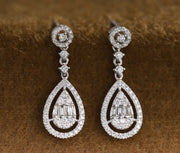 Prime Adore Teardrop Diamond Earrings - Prime Adore
