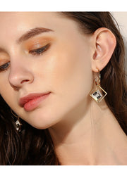 Temperament Geometric Earrings - Prime Adore