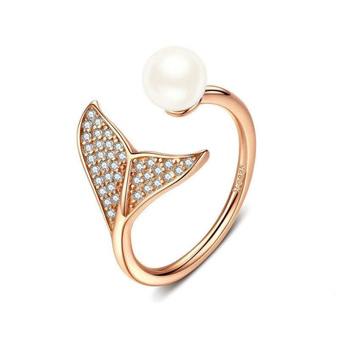 Mermaid Tail Adjustable RIng - Prime Adore