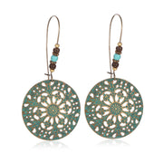 Bohemian Retro Carving Earrings - Prime Adore