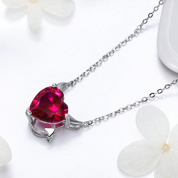 Devil's Heart Necklace - Prime Adore